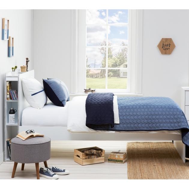 Комплект Cilek Denim покрывало 2 декоративные подушки