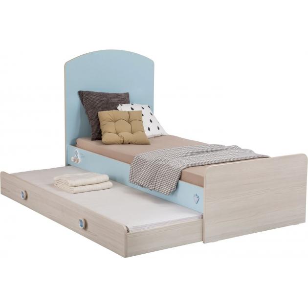 Кроватка трансформер Cilek Baby Boy с выдвижным спальным местом