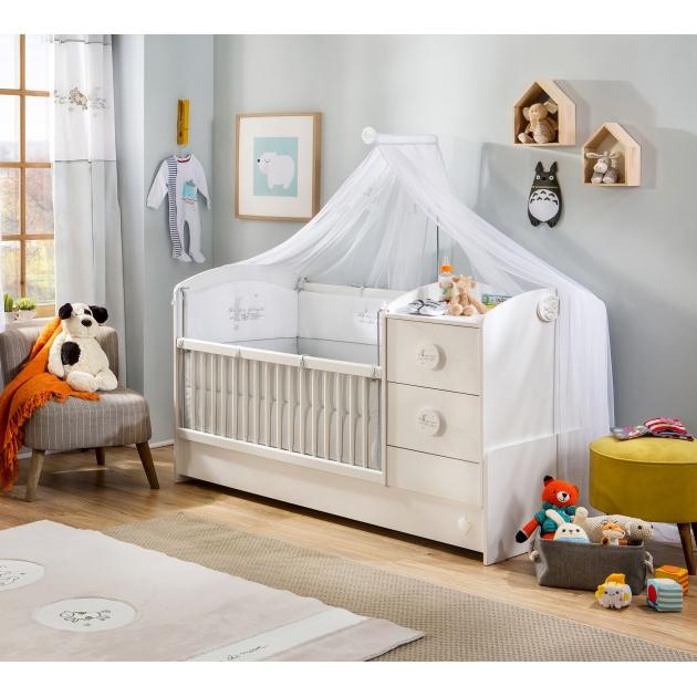 Кроватка трансформер Cilek Baby Cotton St