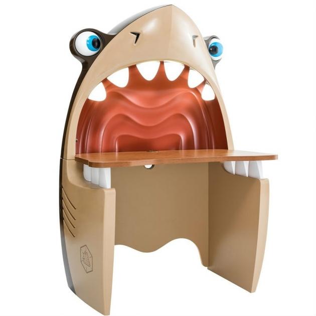 Письменный стол Cilek Black Pirate акула