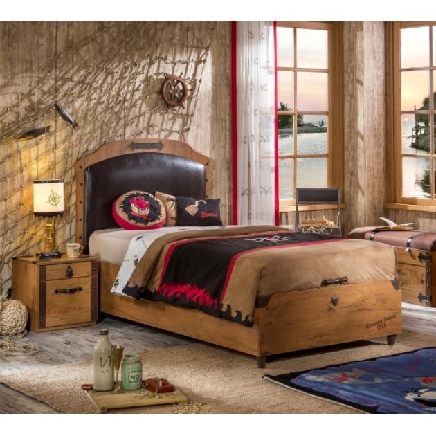 Кровать с подьемным механизмом Cilek Black Pirate без упаковки