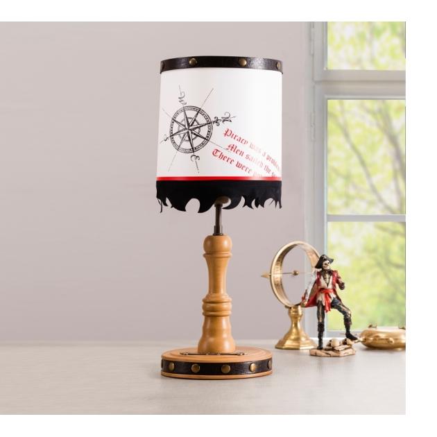 Детская настольная лампа Cilek Black Pirate