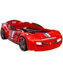 Кровать машина Cilek Carbeds Biturbo красная