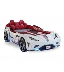 Кровать машина Cilek GTS белая