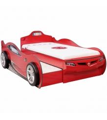 Cilek Coupe с выдвижным спальным местом красный