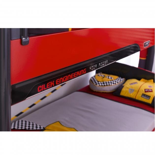 Двухъярусная кровать Cilek Champion Racer 200 на 90 см