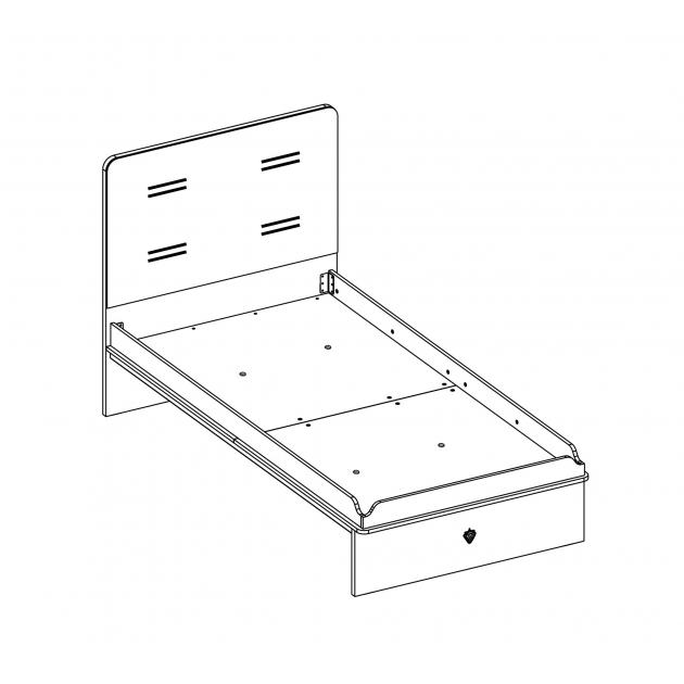 Кровать Cilek Dynamic 200 на 100 см