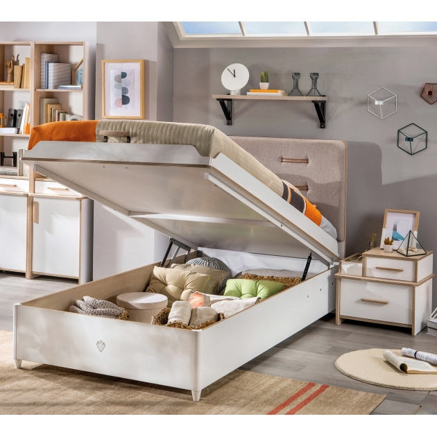 Кровать с подъемным механизмом Cilek Dynamic 200 на 100 см