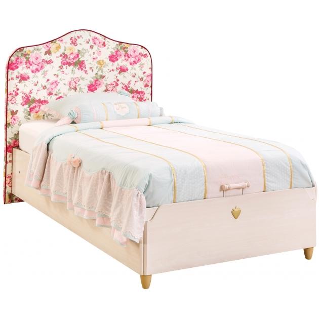 Кровать с подъемным механизмом Cilek Flora 200 на 100 см