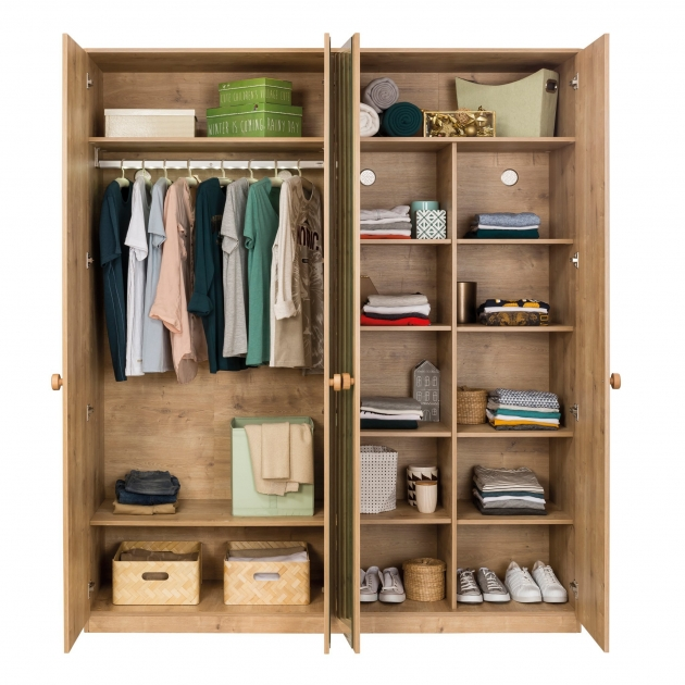 Четырехдверный шкаф Cilek Mocha без коробки