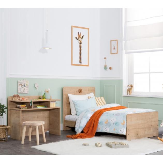 Кровать трансформер с полками Cilek Mocha Baby