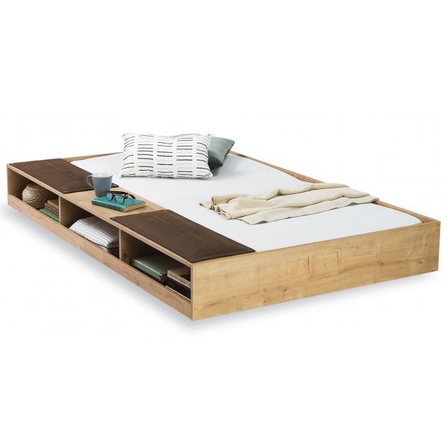 Выдвижное спальное место CilekMocha с полочками 90 на 190 см