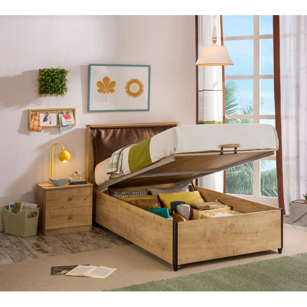 Кровать с подъемным механизмом Cilek Mocha 100 на 200 см