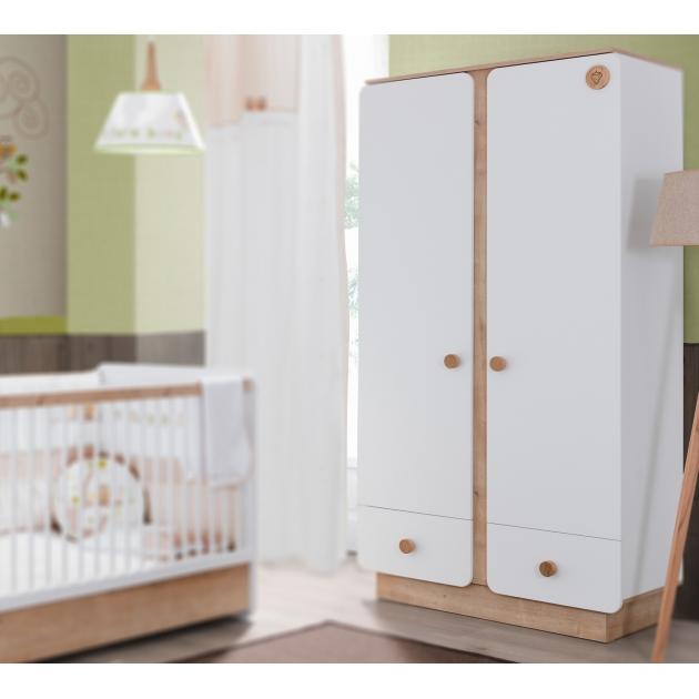 Двухстворчатый шкаф Cilek Natura Baby