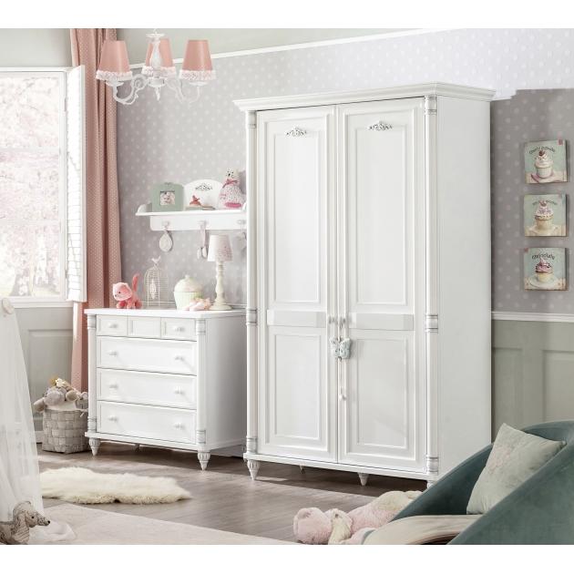 Шкаф двухстворчатый Cilek Romantic