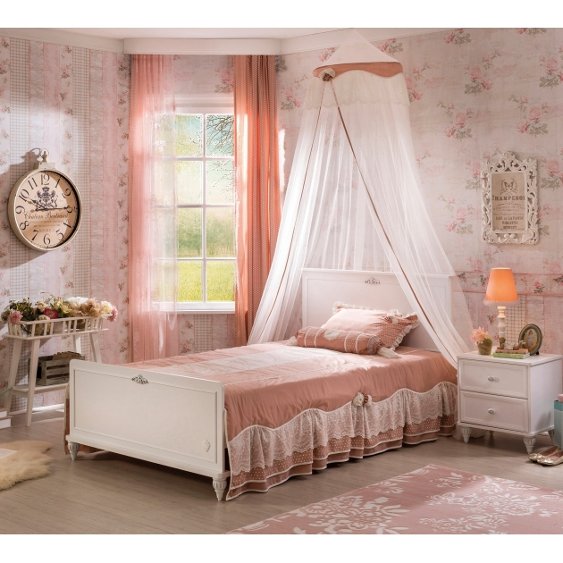 Детская кровать Cilek Romantic XXL 200 на 140 см
