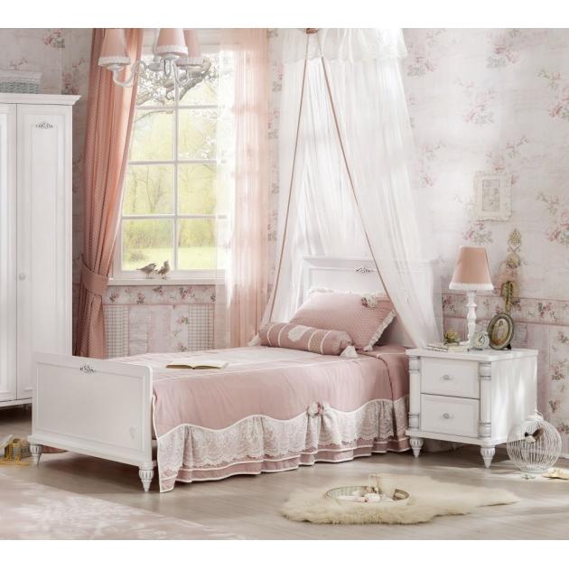 Детская кровать Cilek Romantic ST 190 на 90 см
