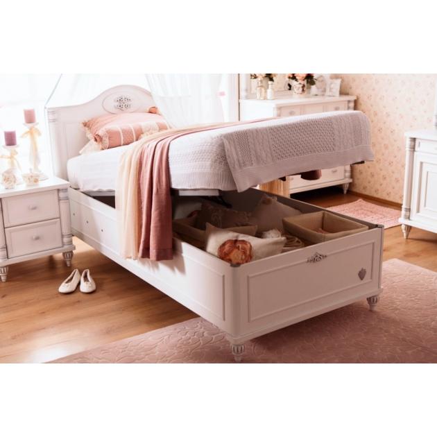 Кровать с подъемным механизмом Cilek Romantic 190 на 90 см