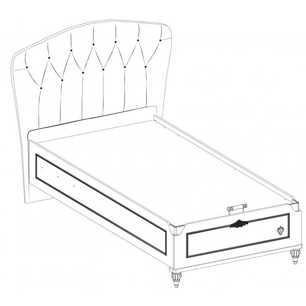 Кровать с подъемным механизмом Cilek Romantic 200 на 100 см