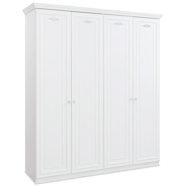 Четырехдверный шкаф Cilek Romantica