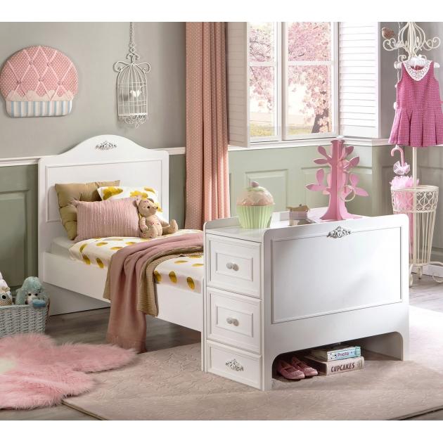 Кроватка трансформер Cilek Romantica