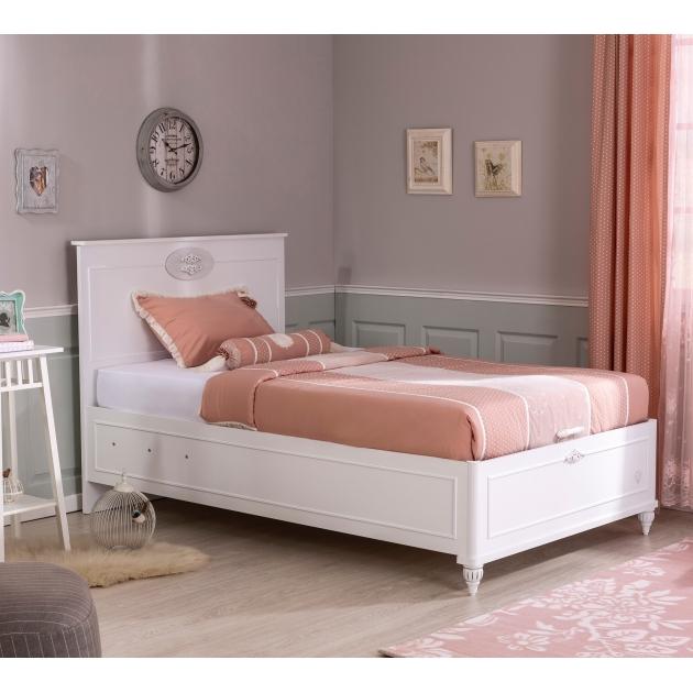 Кровать с подъемным механизмом Cilek Romantica 100x200