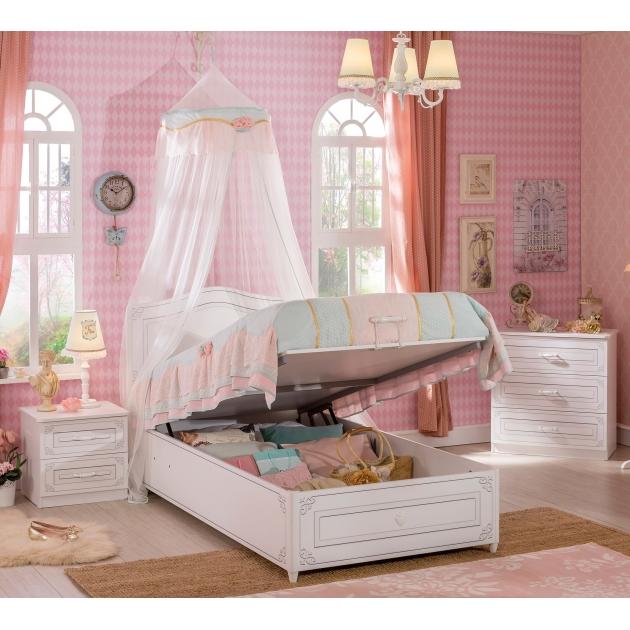 Кровать с подъемным механизмом Cilek Selena 200 на 100 см