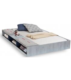 Выдвижное спальное место Cilek Trio с полочками 190 на 90 см