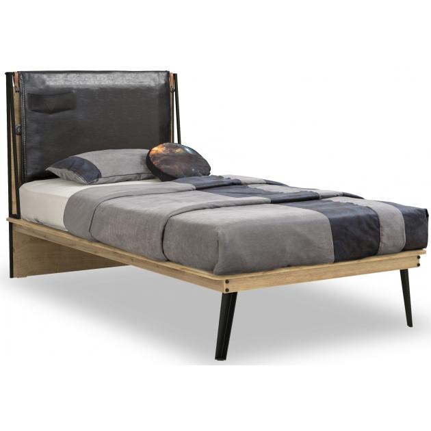 Кровать Cilek Wood Metal Line 100х200
